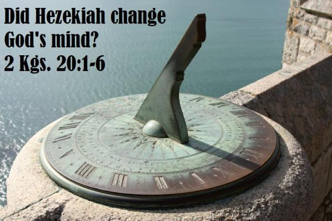 Hezekiah healing 1
